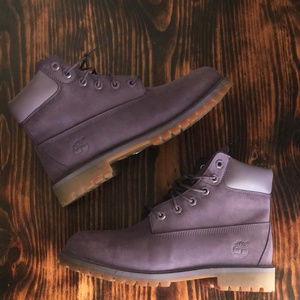 Size 7 Lavender Timberland Boots